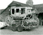Stagecoach on trailer