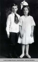 Pete and Yolanda Matteucci, ca. 1911