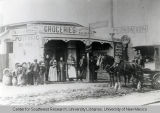 Porto Rico Saloon and Grocery, ca. 1899