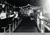 Interior of Palms Beer Garden, ca. 1943