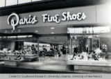 Paris Shoe Store, Winrock Mall, ca. 1970