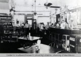 Interior of Palms Beer Garden, ca. 1945