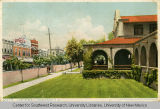 Postcard of First Street, Albuquerque, ca. 1910