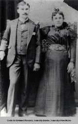 Girolamo and Angelina Giomi, ca. 1900