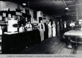 Interior of Savoy Bar and Pool Hall, ca. 1935