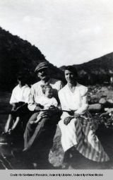 Domenici Family in the Jemez Mountains, ca. 1920