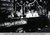 Interior of Balduini Saloon, ca. 1915
