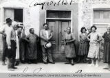 Italian Family Reunion, ca. 1931