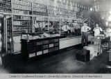 Interior of Champion Grocery and Meat Market, ca. 1907