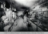 Interior of the Porto Rico Saloon and Grocery, ca. 1905