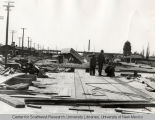 Construction of the Central Ave. underpass