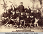 Group portrait of the Albuquerque Maroons