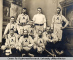 Group portrait of a baseball team