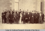 Group portrait of members of the First Methodist Church