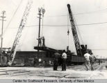 Construction of Central Ave. underpass