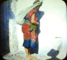 Pueblo woman with burden
