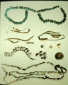 Archaeological artifacts: jewelry