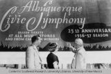 Albuquerque Civic Symphony Advertisement