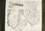 "Photograph of the ""General Plan of Riverside"" Created by Olmsted, Vaux & Co..."