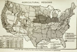 "Photograph of "" The Yearbook of agriculture (1921)"" showing agricultural regions..."