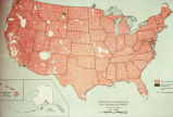 "Photograph of map ""Department of Agriculture Soil Conservation Service"" showing map of..."