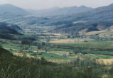 Tazewell Virginia scenery, farm in the valley bottom surrounded by hills and trees
