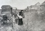 "Unknown photograph of New England scenery, ""Passing of the old farm"""