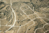 "Aerial photograph of loops and lollipop street grids, J B Jackson  noted "" roads"" on the..."