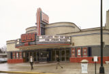 "Landis Theatre-Mori Brothers Building, modernistic, William Lee  J B Jackson noted ""Landscape..."