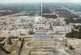 Photograph of image in book showing an aerial view of Grambling State University Sports Complex ...