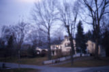 Blurry house
