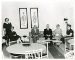 Bank opening 1961, coffee room