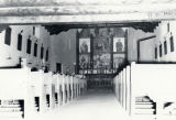 Unidentified church construction; interior
