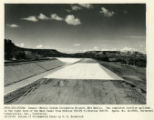 Overflow spillway from Canals - Navajo Indian Irrigation Project, New Mexico