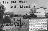 Alamo Village Advertisement