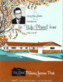 "Pamphlet cover for the ""Wife Planned Home"" by Dale Bellmah"