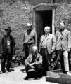 Miguel Luna, Eugenio Salazar, Marshall Bond, Sr., New Mexico Gov. Miguel Otera, and Marshall Bond,...