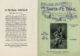 Rolling Along the Santa Fe Trail - Musical Score