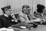 GI Forum Board of Directors listen to Navy briefings - c. 1975