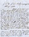 Letter to Felipe Chaves from Atanacio Montoya