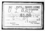 City of Albuquerque Driver's License