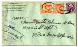 Letter to Mrs. Francisquita Pohmer de Baca from Elfego Baca concerning his safety deposit box
