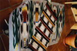 Navajo Rugs, Big Mountain Weaving Show, Taos, NM