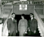 Welcome Senator Fred R. Harris