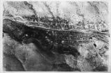 Aerial photograph of Madrid, New Mexico