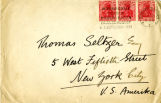 Envelope to Thomas Seltzer (2)