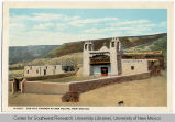 San Felipe Pueblo Church Postcard