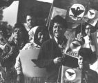 Cesar Chavez in United Farm Workers March