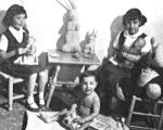 """A Tea Party""' at the Well Child Clinic"