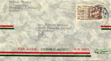 Envelope addressed to Evelyn Ortner from Witter Bynner, 1951